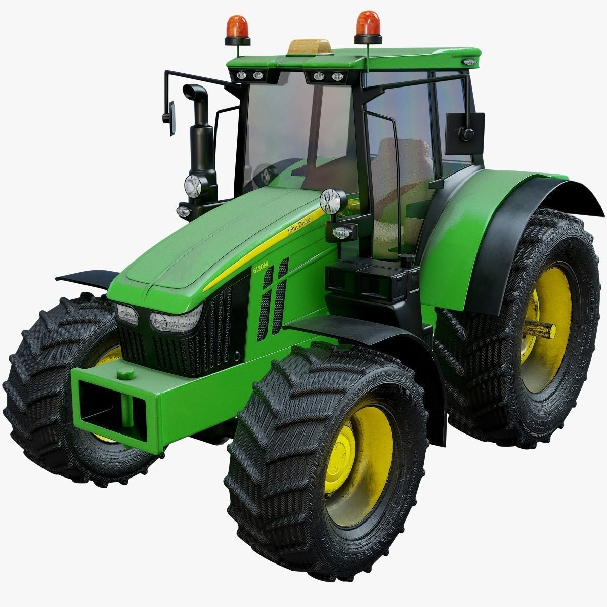 Modern Heavy Agriculture Tractor