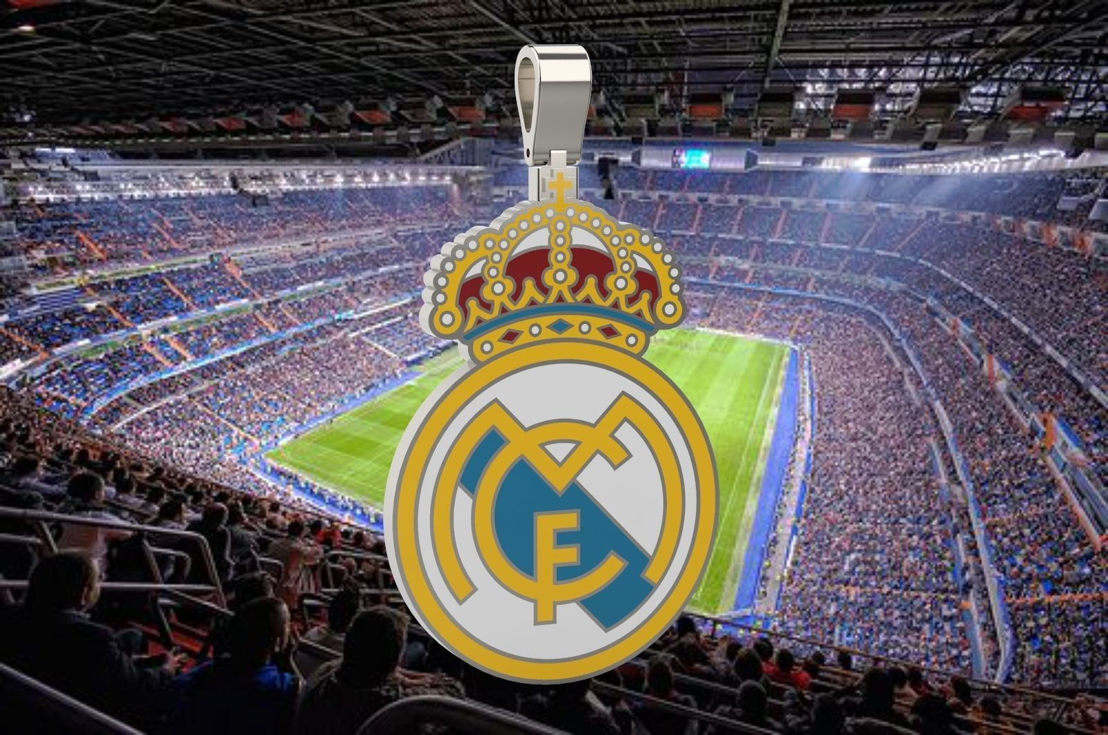 Real Madrid Pendant  3D print model