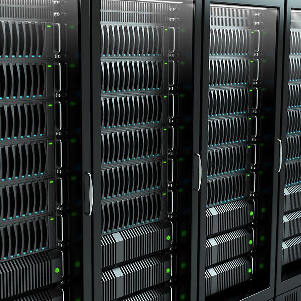 Server Rack 3D Model .obj .3ds .fbx .blend