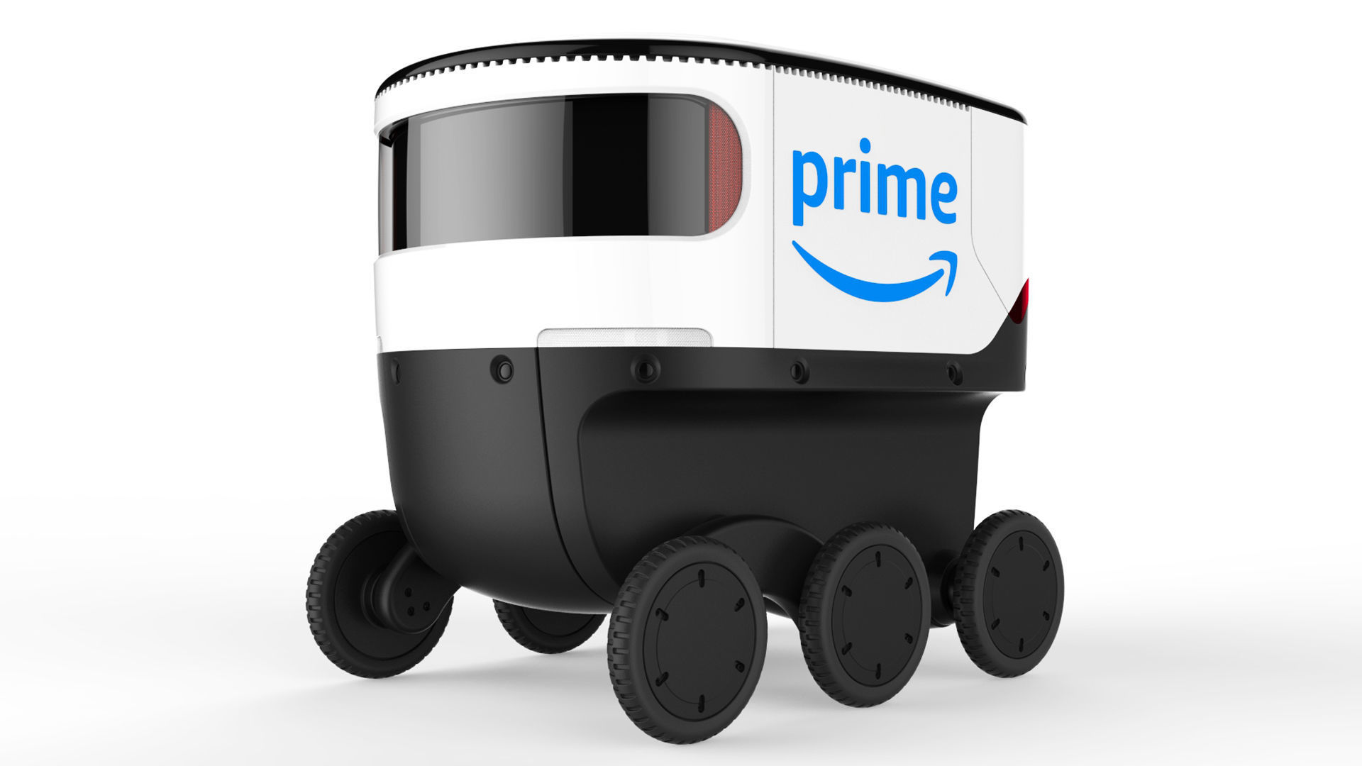 Delivery Robot White