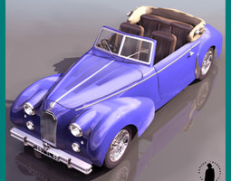 TALBOT LAGO FRENCH VINT 3D Model