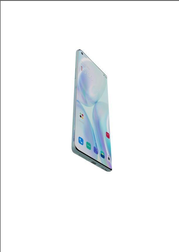 oneplus 8 pro blue phone design 3D Print model