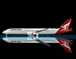 3D model Qantas 787 - 9 Dreamliner