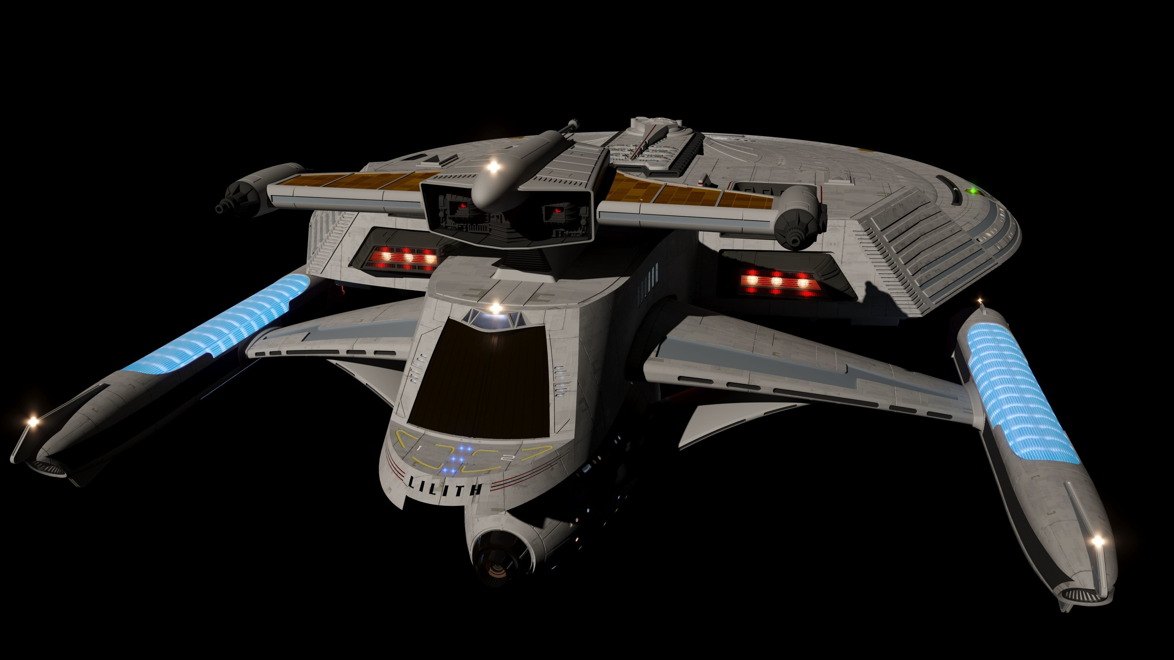 Lilith Class Federation Starship