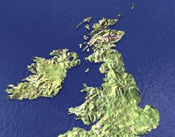 3D model Great Britain