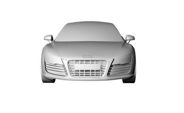 Audi R8 surface design
