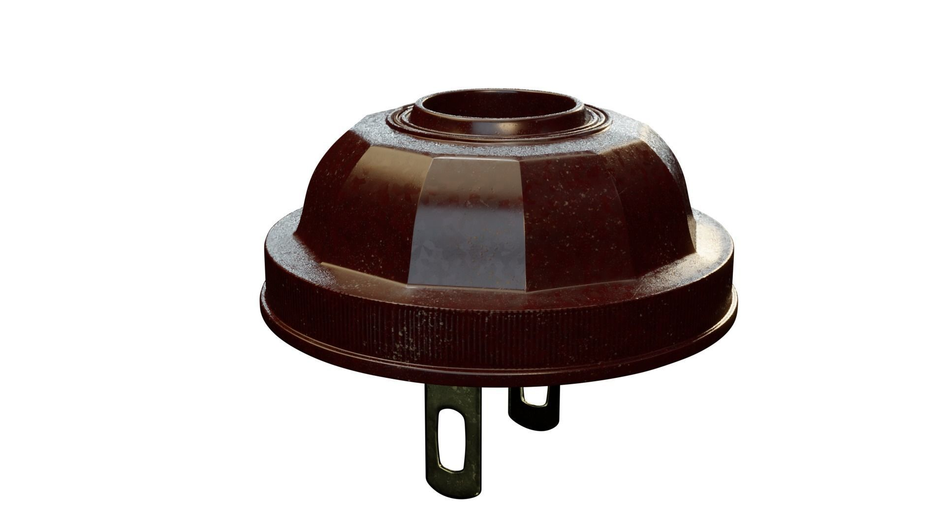 Vintage 1930 bakelite power plug