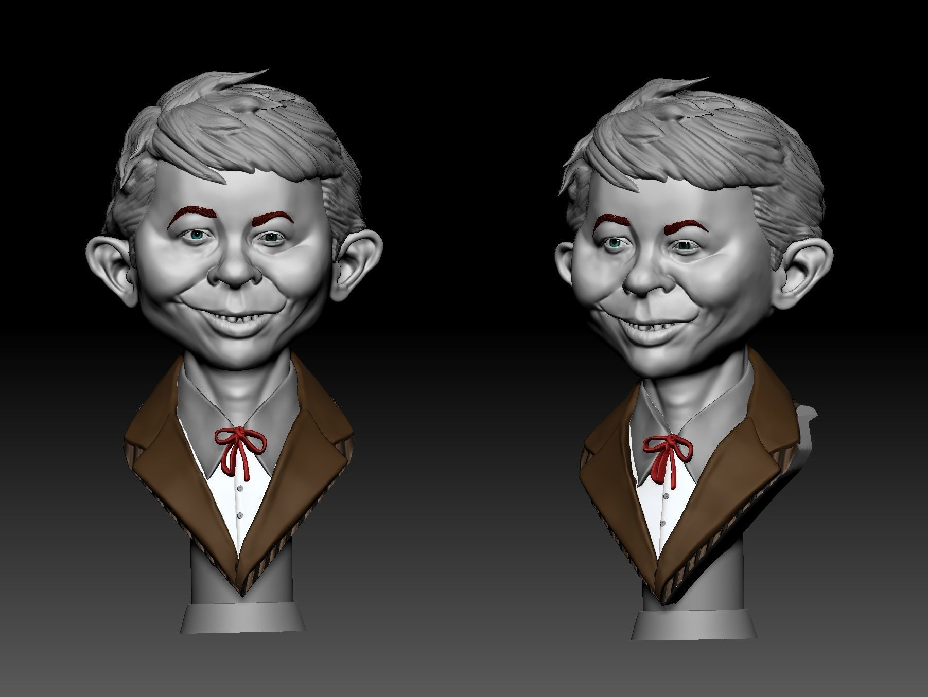 Alfred  Neuman Busto
