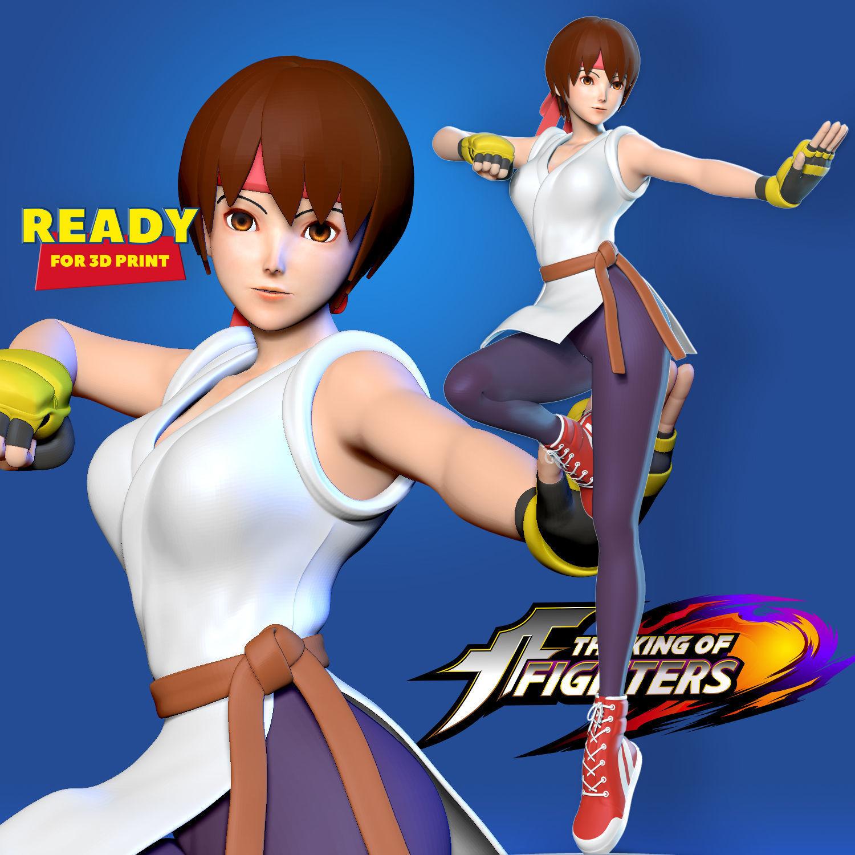 Yuri Sakazaki - King of Fighters Fanart
