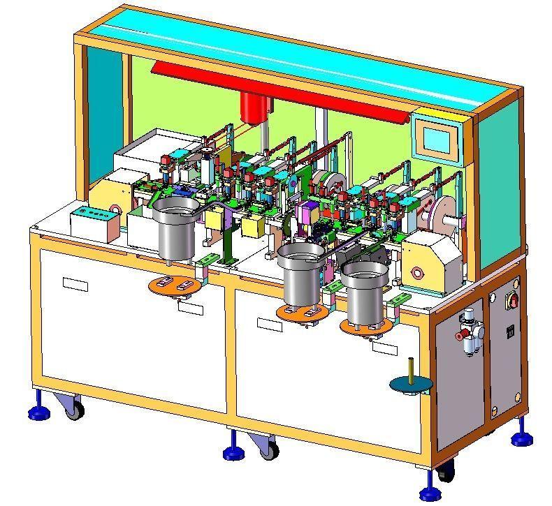 Cam assembly machine