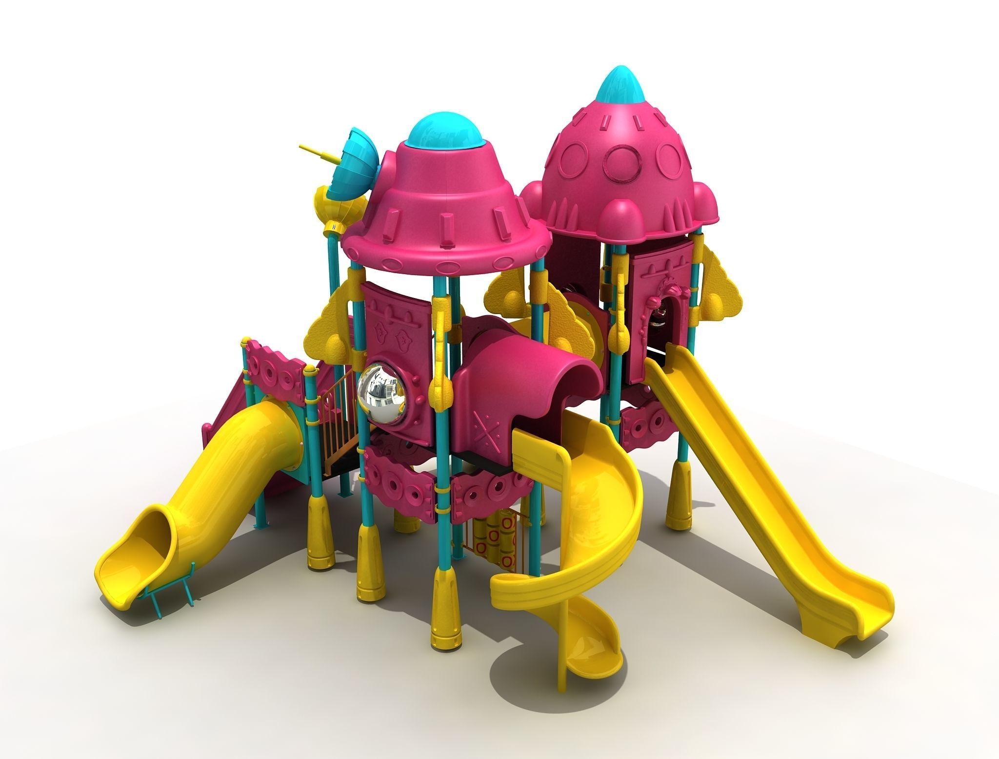 Space Shuttle Kid Playground 58