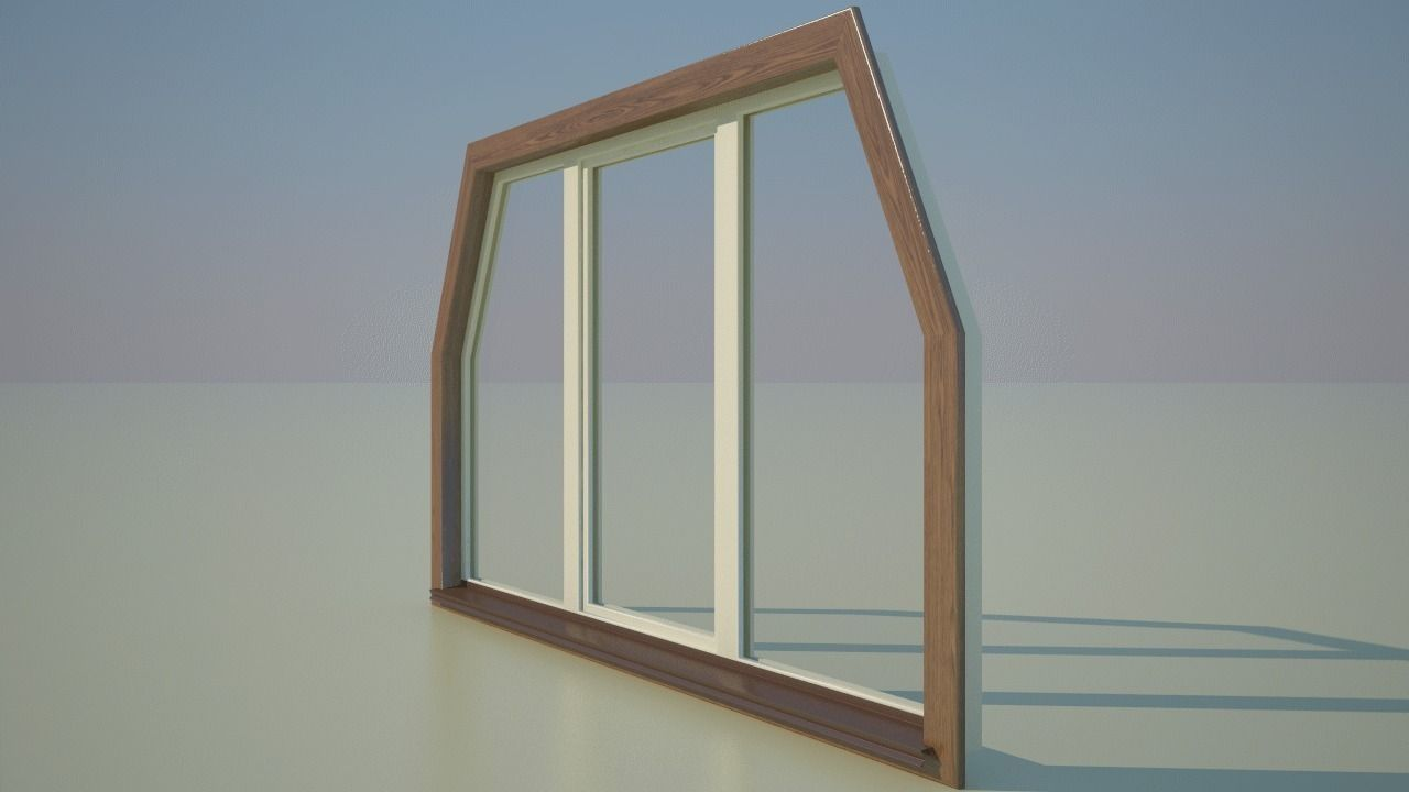 Window 3 outer 3d model max for Window 3d model