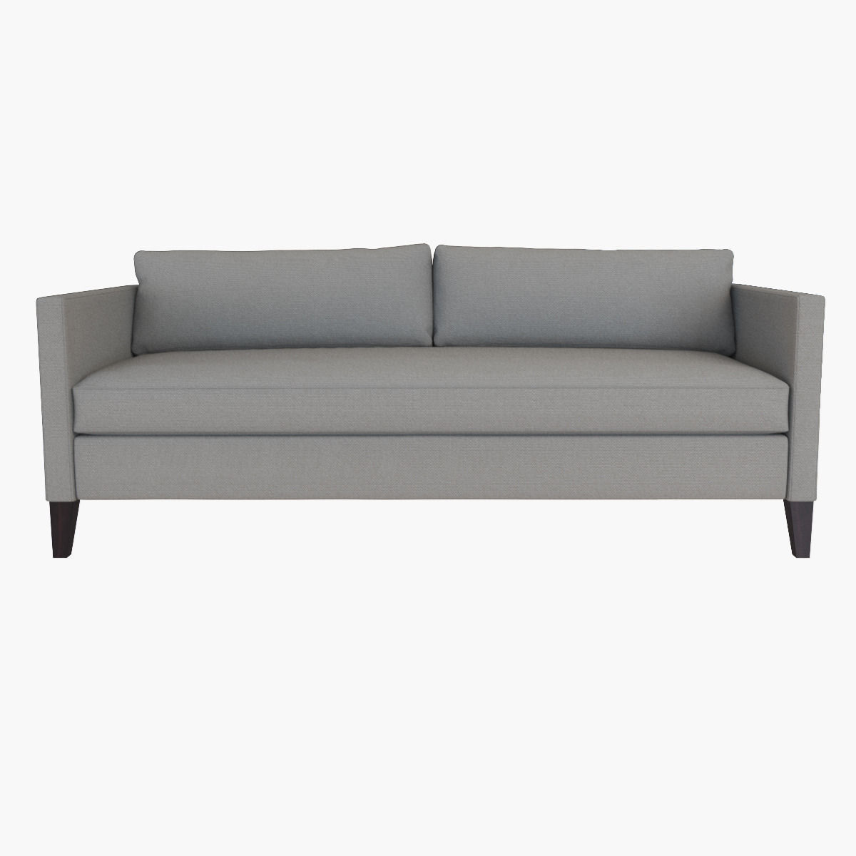 West Elm Dunham Down-Filled Sofa - Box Cushion