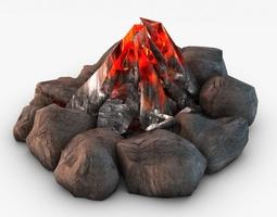 3d model bonfire
