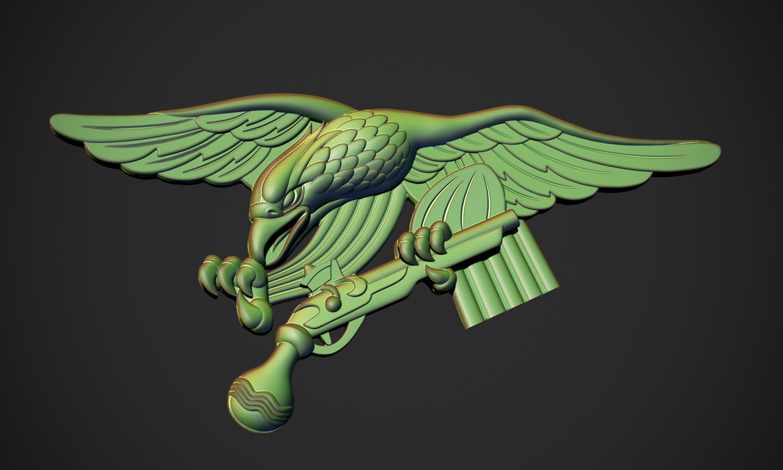 Eagle with Shotgun