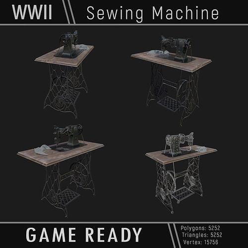 Sewing Machine WWII