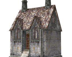 3D model Mariners Chapel for obj and fbx