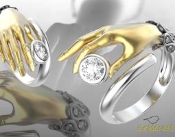 Tender hand ring 3D Model