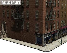 3D Town buildings 03