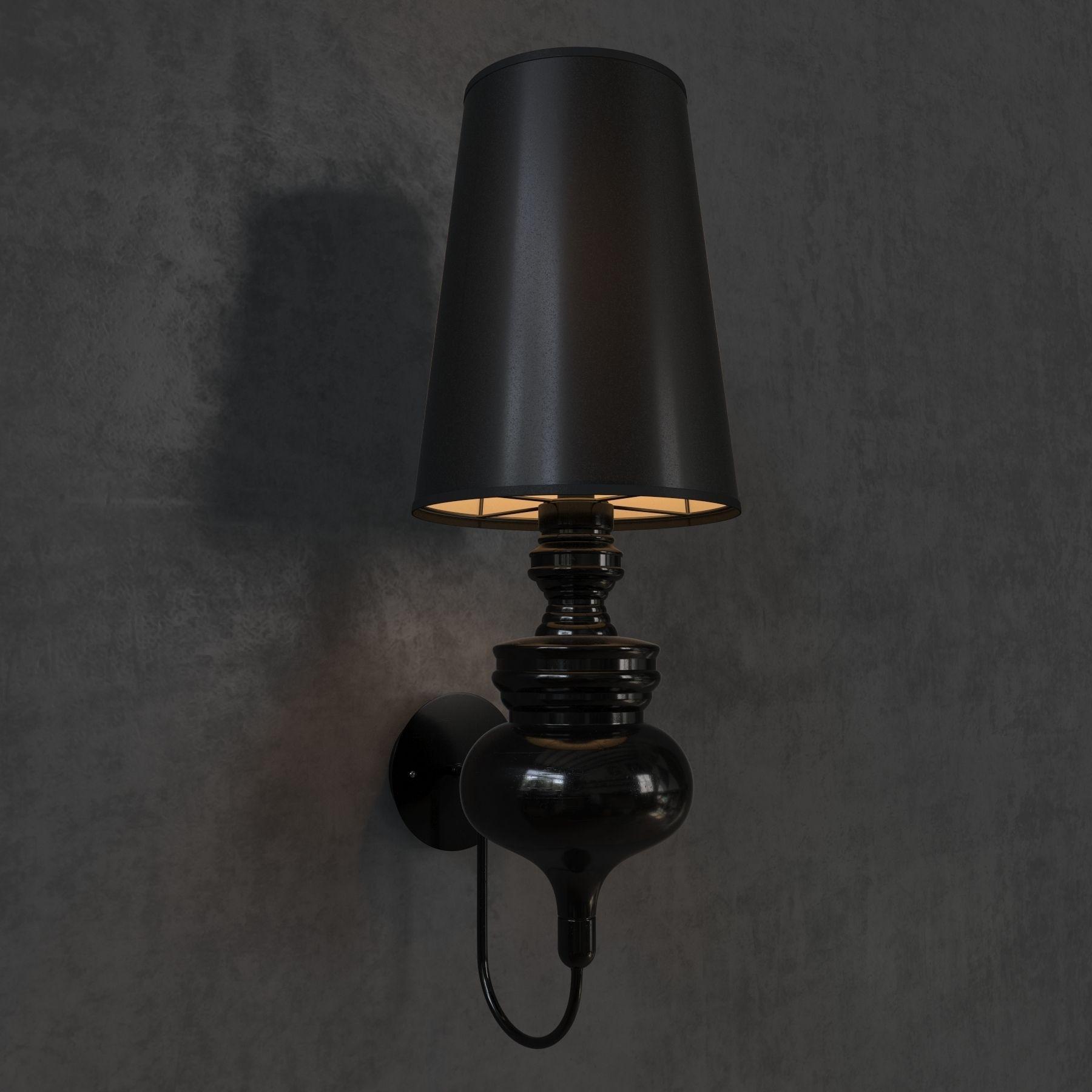 Wall Lamps 3d Model : Josephine Wall Lamp 3D Model MAX OBJ FBX MAT CGTrader.com
