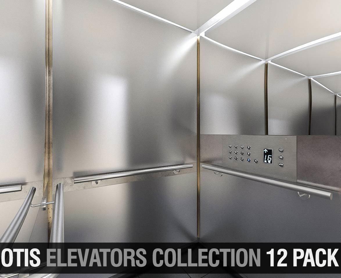 OTIS Elevators Collection - 12 Pack