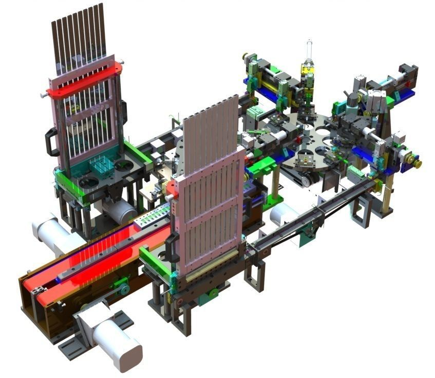 USB assembly line equipment