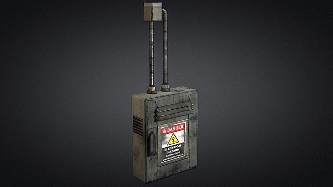 electric fuse box 01 3d model low poly max obj 3ds fbx dxf dwg electric fuse box 01 3d asset cgtrader fuse box 3d printer at eliteediting.co