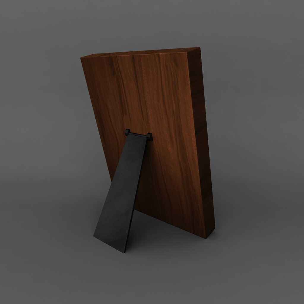 High Quality 3d Models: High Quality Low Poly Simple Photo Frame 3D Model Game