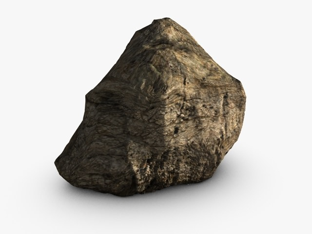 Cliff rock or mountain3D model