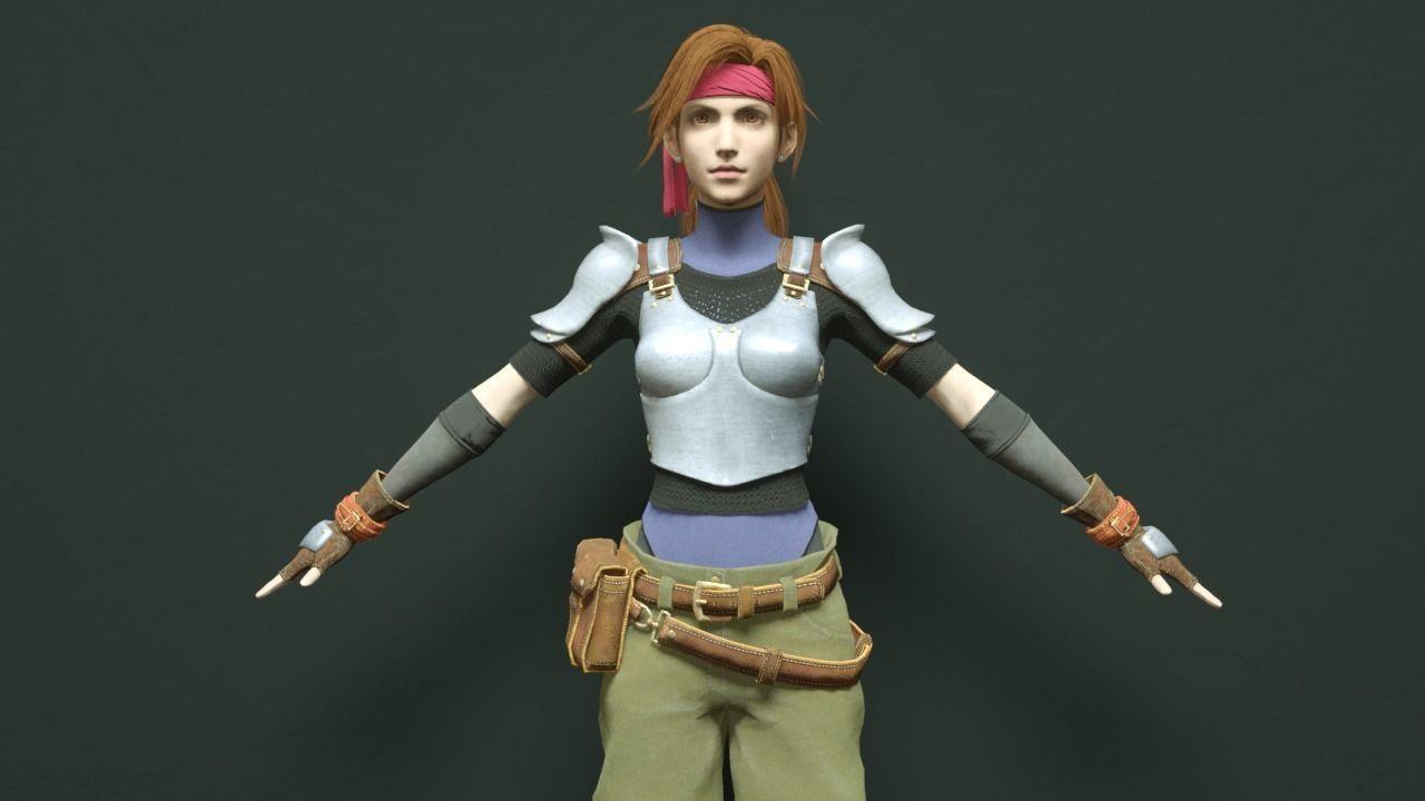 Jessie - Final Fantasy 7 Remake