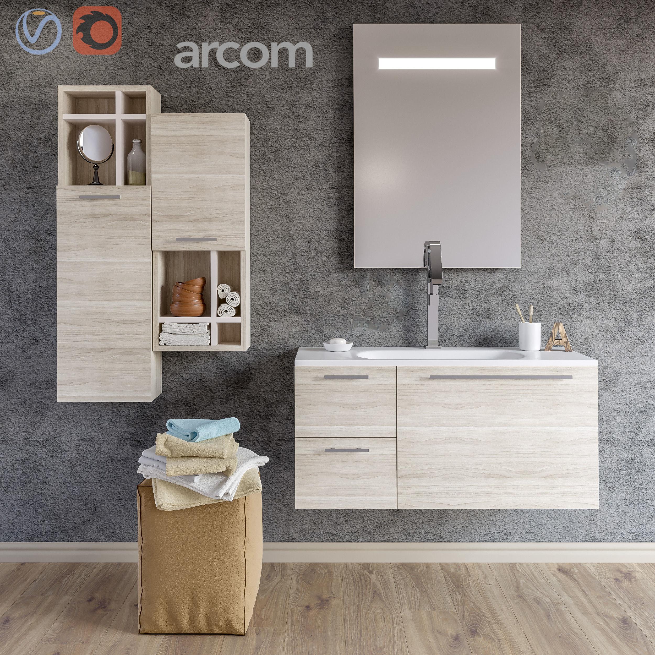 Set of bathroom furniture 1