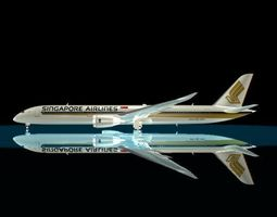 singapore airlines 787-10x 3d