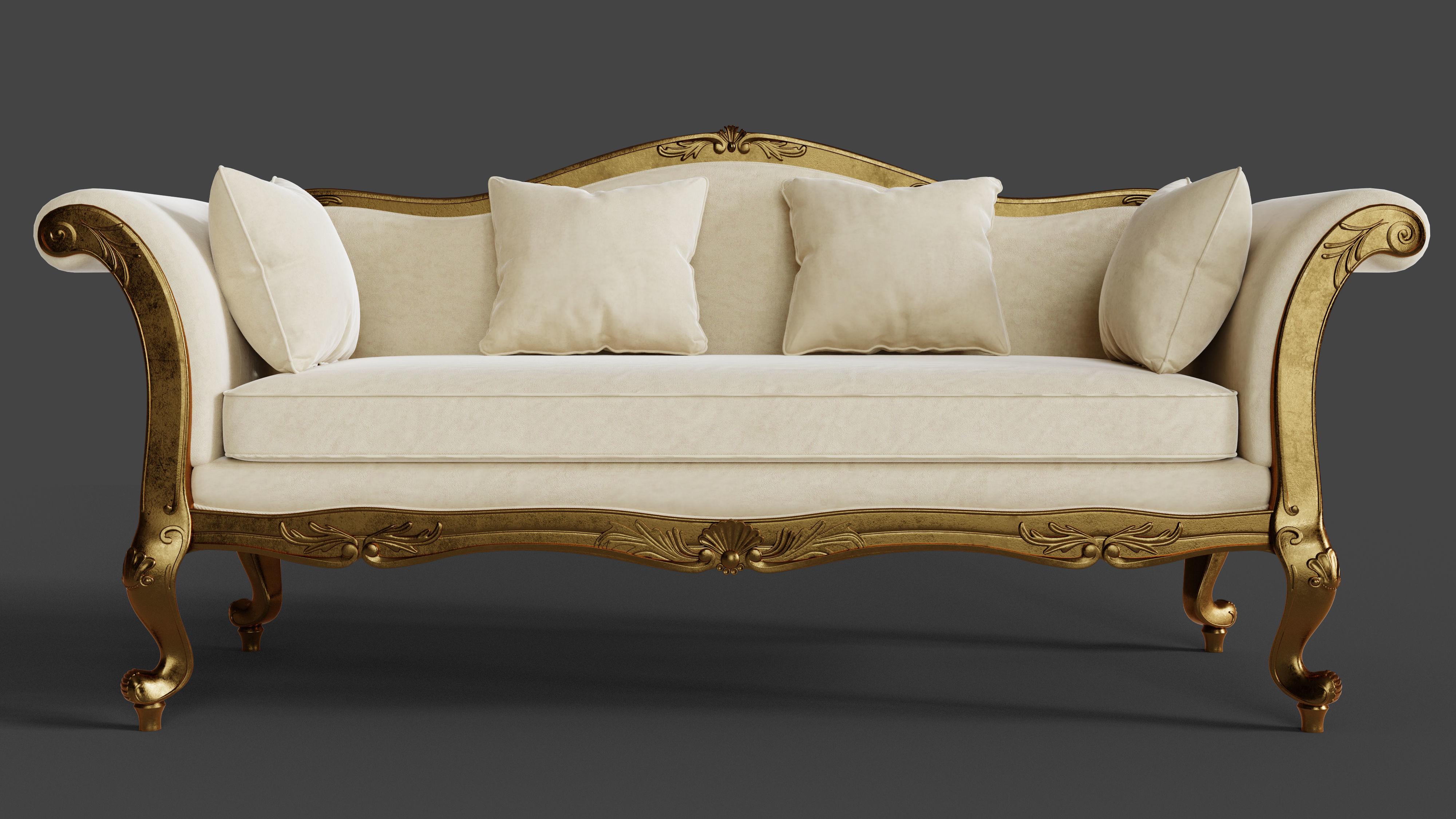 Baroque Classic Sofa
