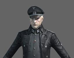 3D WWII German Officer