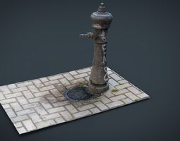 fountain 2 realtime 3d asset