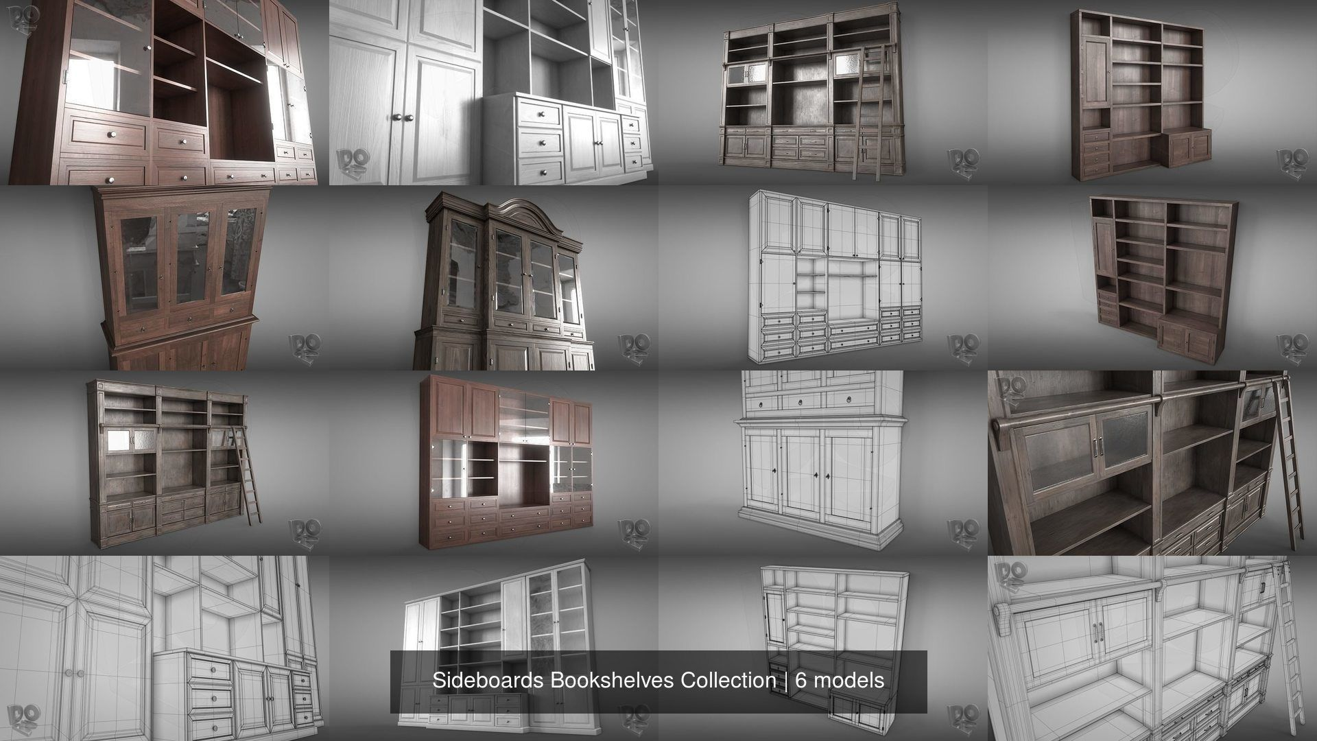 Sideboards Bookshelves Collection