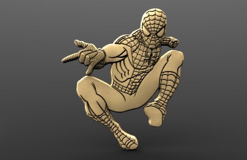 Spider man Bas relief