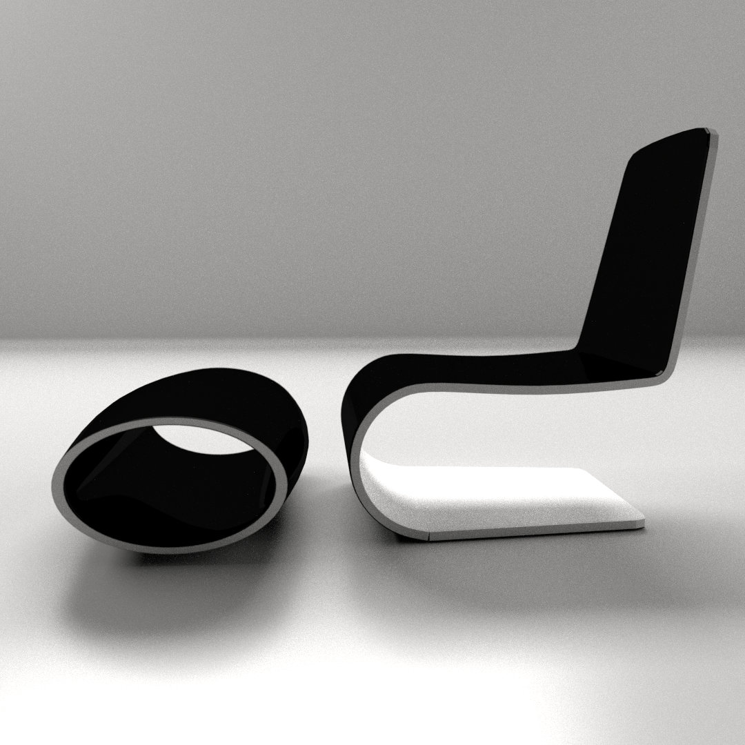 Modern Chair 1 3d Model 3ds Fbx Blend Dae Cgtrader Com