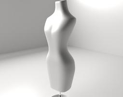 female mannequin 3d model