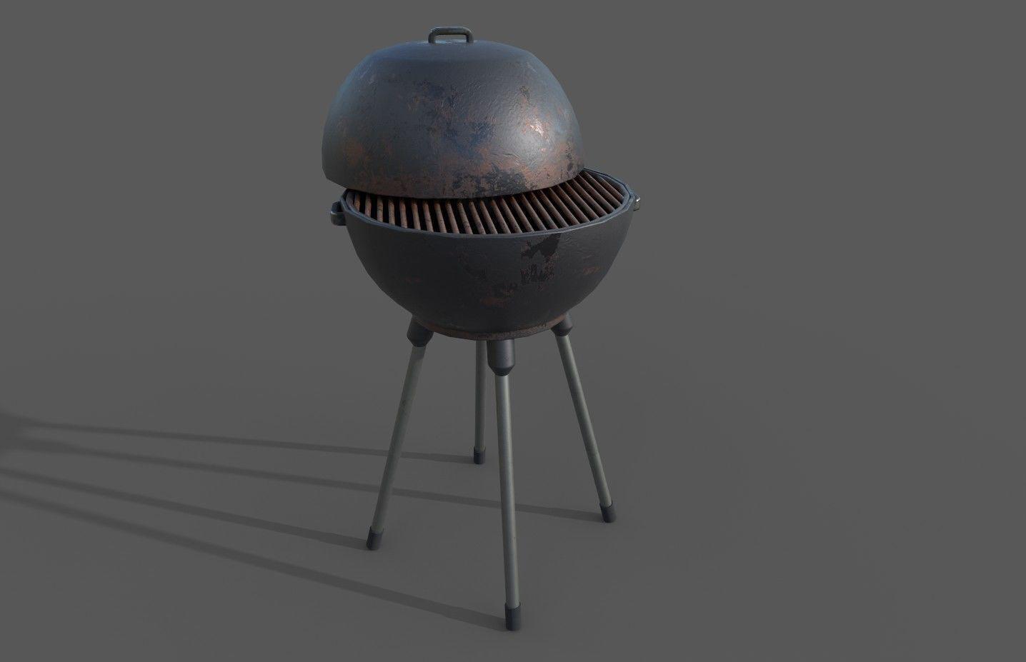 BBQ grill pbr ready