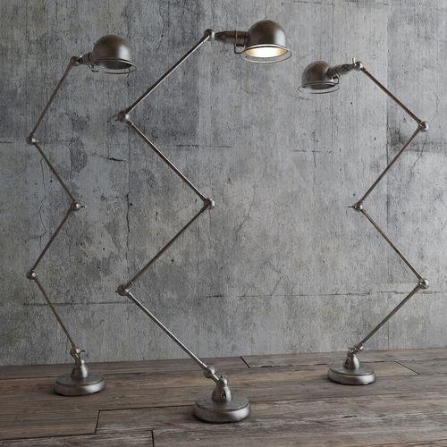atelier scissor task floor lamp 3d model max fbx 1