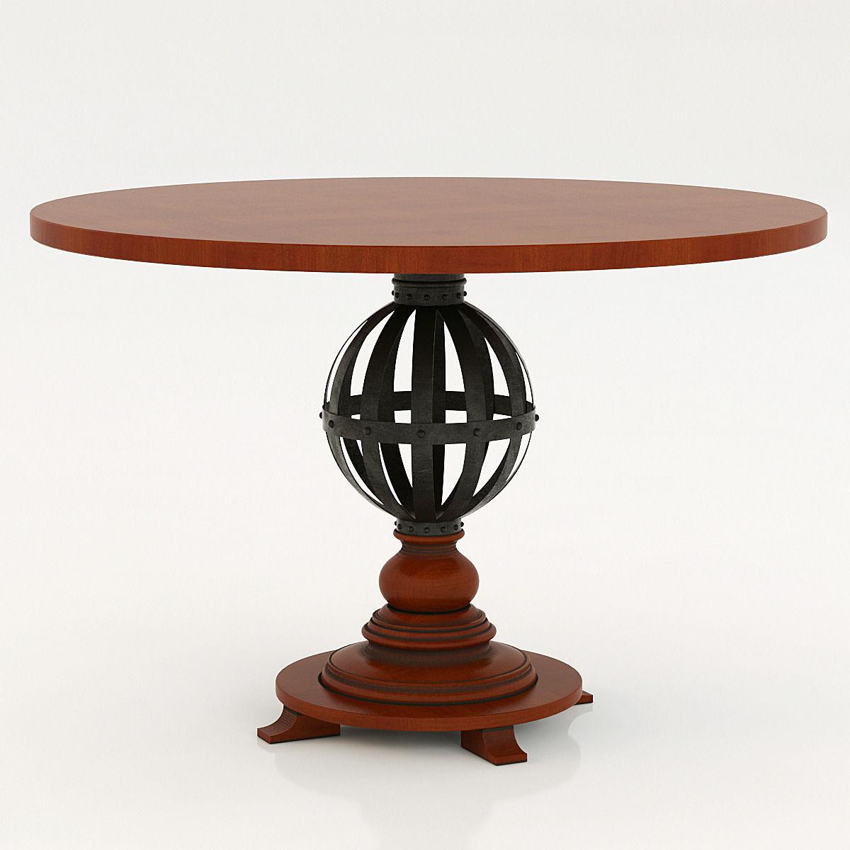 Stanley Furniture European Farmhouse Provencal Gardens Table