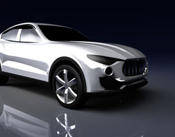 Maserati Kubang 3D Model