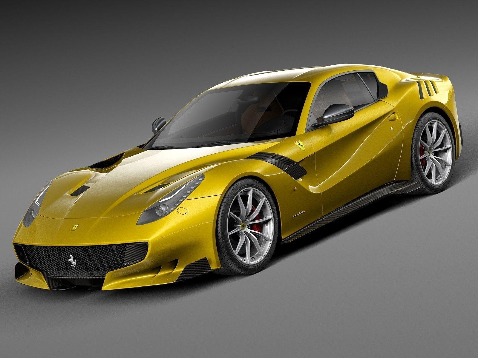 ferrari f12tdf 2016 3d model max obj 3ds fbx c4d lwo lw lws. Cars Review. Best American Auto & Cars Review
