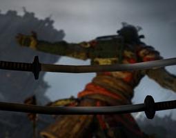 3D model katana of for honor