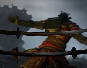 katana of for honor 3D