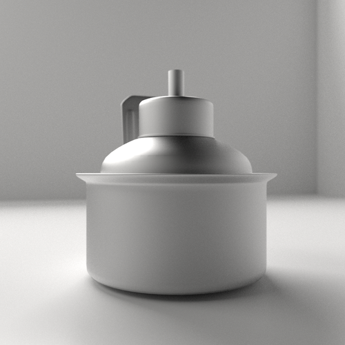 Pelita Kerosine Lamp 3D Model .3ds .fbx .blend .dae