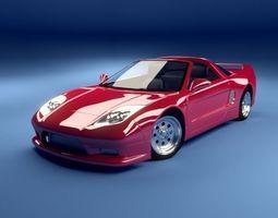 Sport car concept 3D model