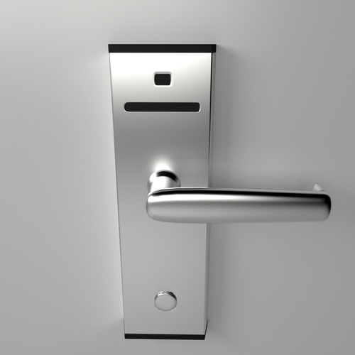 Keycard Lock 3d Model 3ds Fbx Blend Cgtrader Com