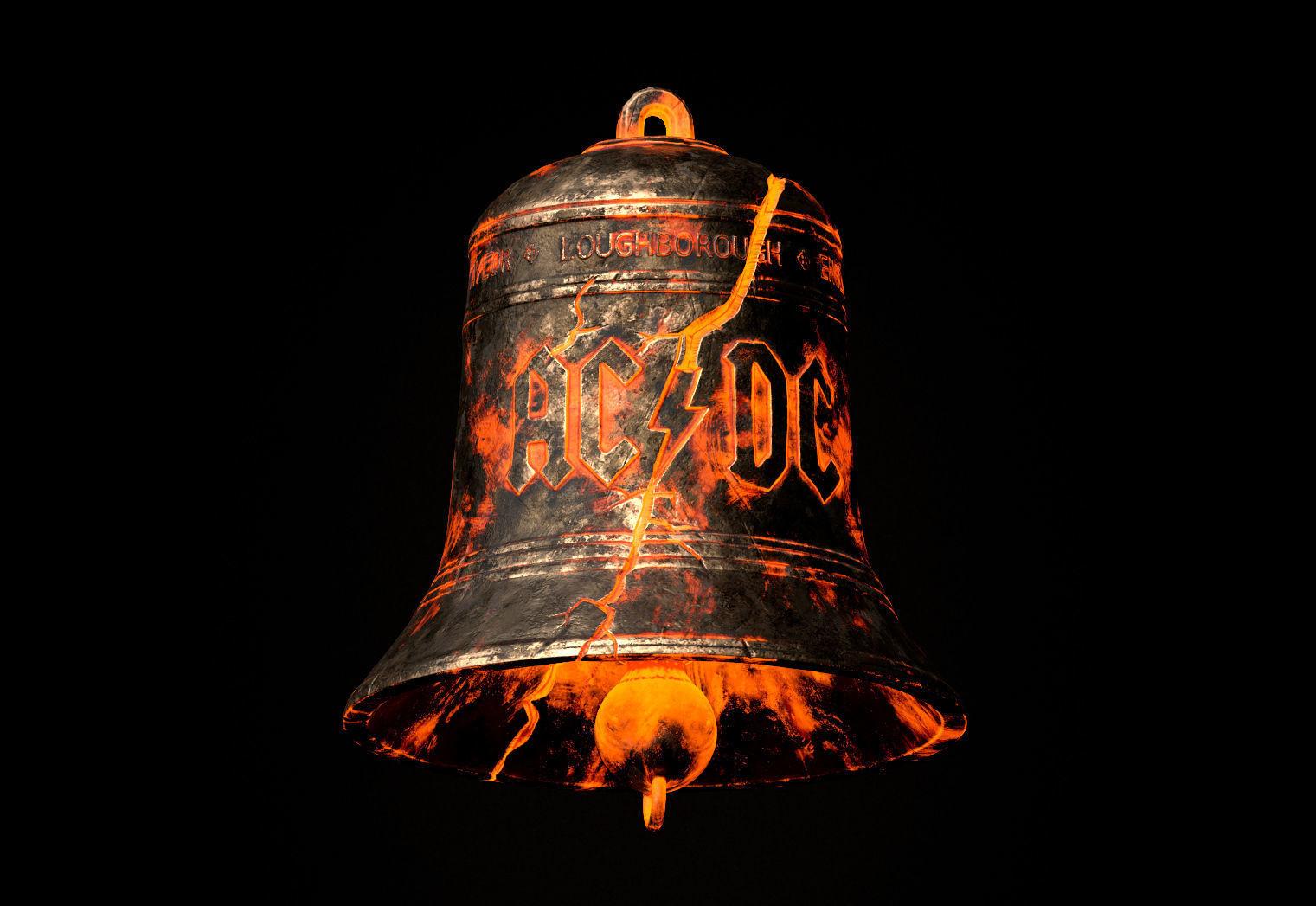AC DC Hells Bells Legends of Rock
